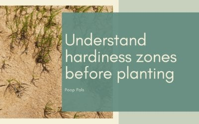 Understand hardiness zones before planting